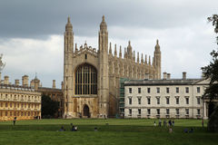 King's College and King's College Chapel, Cambridge, England Stock Photos