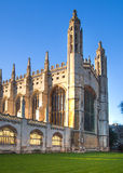King's college (started in 1446 by Henry VI). Historical buildings, Cambridge Royalty Free Stock Photo