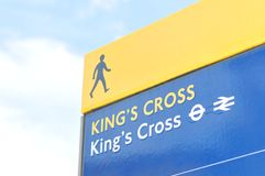 King's Cross Stock Photo