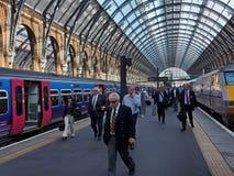 King's Cross railway station Royalty Free Stock Photo