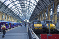King`s Cross station. royalty free stock image