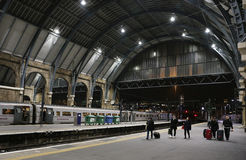 King's Cross station in London Royalty Free Stock Image