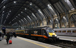 King's Cross station in London Royalty Free Stock Images