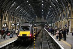 King's Cross station in London Stock Photos