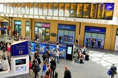 King's Cross train station Stock Photos