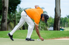 King's Cup 2016, Golf in Thailand. Royalty Free Stock Photos