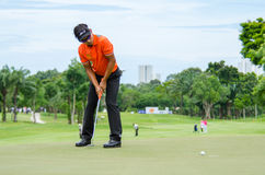 King's Cup 2016, Golf in Thailand. Royalty Free Stock Photo