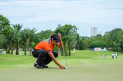 King's Cup 2016, Golf in Thailand. Stock Photography