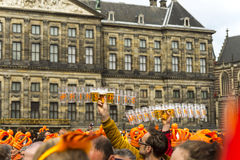 King's day celebrations Royalty Free Stock Photo