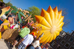King's day festivities Stock Images