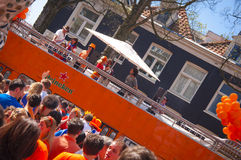 King's day festivities Royalty Free Stock Image