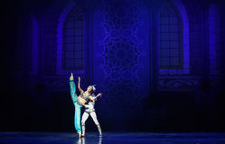"""King's fascination- ballet """"One Thousand and One Nights"""" Stock Photos"""