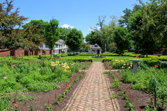 The King's Garden,Fort Ticonderoga,New York,June 2014 Royalty Free Stock Photos