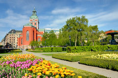 The King's garden, Stockholm Royalty Free Stock Image