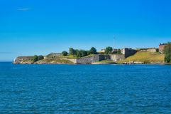 King`s Gate of Suomenlinnan, Finland Royalty Free Stock Photo