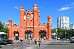 King's Gates in Kaliningrad. KALININGRAD, RUSSIA — AUGUST 13, 2014: King's Gates in Kaliningrad in August Royalty Free Stock Images