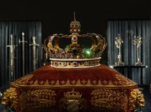 King`s gold crown Royalty Free Stock Photos