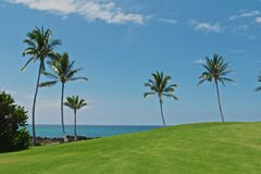 Kings Golf Course Hawaii Stock Photography