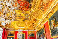 King`s grand apartment. Royalty Free Stock Photo