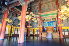 King`s Hall of Changdeok Palace on Jun 17, 2017 in Seoul, repub stock images