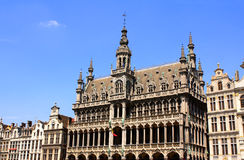 King's House on Grand place in Brussel, Belgium Stock Photography