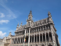 King's House Grand Place in Brussels, Belgium Stock Photos