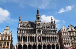 King's House at the Grand Place Brussels, Belgium Royalty Free Stock Image
