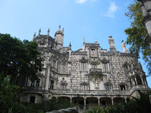 King's palace in Sintra, Portugal. Beautiful historical building in Sintra town, Portugal Stock Images
