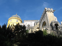 King's palace in Sintra, Portugal. Beautiful historical building in Sintra town, Portugal Royalty Free Stock Images