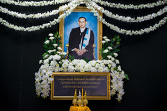 King`s picture at Thammasat University Stock Image