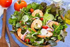 King's prawn salad Royalty Free Stock Images