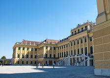 King's residence Schonbrunn Palace in Vienna, Austria Stock Image
