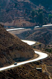 King's road from Karak Royalty Free Stock Images