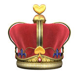 King's Royal Crown Stock Images