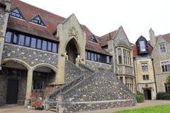King& x27; s szkoły Canterbury Katedralne dzielnicy UK zdjęcie stock