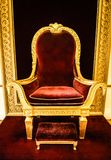 The King& x27;s throne royalty free stock images