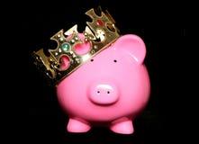 King savings piggy bank Stock Photos