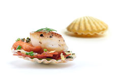 King Scallops 3 Stock Photo