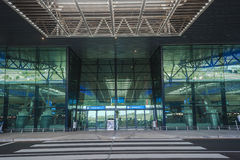 King Shaka Airport Entrance Royalty Free Stock Photo
