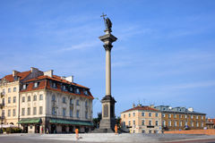 King Sigismund's Column in Warsaw Royalty Free Stock Photo