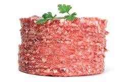 King size hamburger Stock Photos
