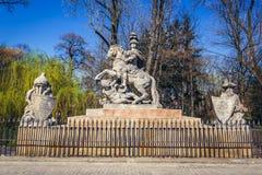 King Sobieski statue Stock Photos