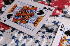 King of spades Stock Photos