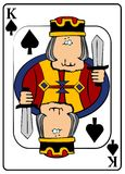King Of Spades Stock Images