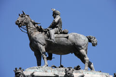 King of Spain Royalty Free Stock Images