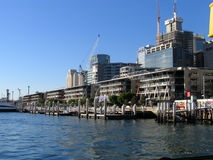 King St Wharf. Daring Harbour, Sydney Stock Photos