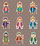 King stickers Royalty Free Stock Photo