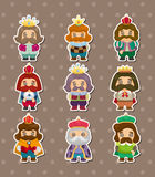 King stickers Stock Images