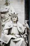 King of Stone, sculpture Stock Images