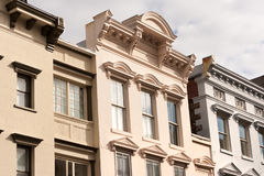 King street facades Royalty Free Stock Photography